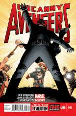 Uncanny Avengers (2012-2014) #3 Variant A
