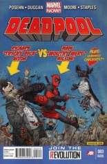 Deadpool (2012-2015) #3 Variant C: 2nd Printing