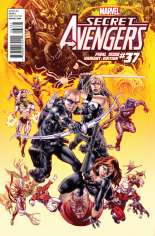 Secret Avengers (2010-2013) #37 Variant B: Final Issue Cover