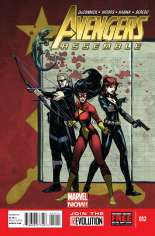 Avengers Assemble (2012-2014) #12 Variant A