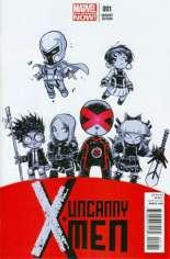 Uncanny X-Men (2013-2016) #1 Variant C: Baby Cover