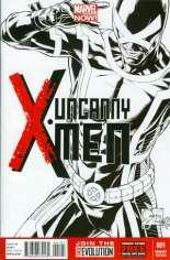 Uncanny X-Men (2013-2016) #1 Variant F: 1:150 Sketch Cover