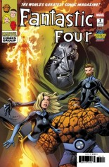 Fantastic Four (2018-Present) #1 Variant ZD: Midtown Exclusive Variant