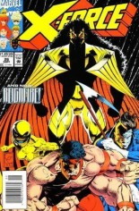 X-Force (1991-2002) #26 Variant A: Newsstand Edition