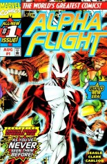 Alpha Flight (1997-1999) #1 Variant A: Newsstand Edition; Wraparound Cover