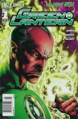 Green Lantern (2011-2018) #1 Variant A: Newsstand Edition