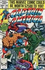 Captain America (1968-1996) #249 Variant C: UK Edition