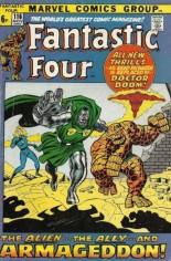 Fantastic Four (1961-1996) #116 Variant B: UK Edition