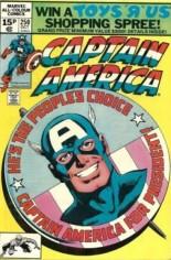 Captain America (1968-1996) #250 Variant C: UK Edition