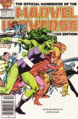 Official Handbook of the Marvel Universe Deluxe Edition (1985-1988) #11 Variant A: Newsstand Edition