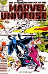 Official Handbook of the Marvel Universe Deluxe Edition (1985-1988) #12 Variant A: Newsstand Edition