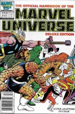 Official Handbook of the Marvel Universe Deluxe Edition (1985-1988) #13 Variant A: Newsstand Edition