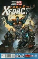 Cable and X-Force (2012-2014) #3 Variant C: 2nd Printing