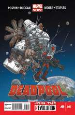 Deadpool (2012-2015) #5 Variant A