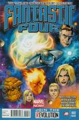 Fantastic Four (2012-2014) #2 Variant C: 2nd Printing