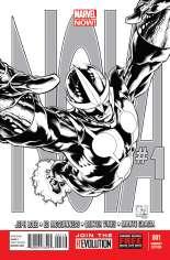Nova (2013-2015) #1 Variant F: Sketch Cover