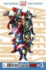 Uncanny Avengers (2012-2014) #1 Variant V: 2nd Printing