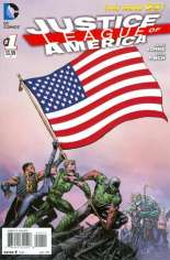 Justice League of America (2013-2014) #1 Variant A: Regular U.S.A. Flag Cover