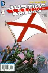 Justice League of America (2013-2014) #1 Variant C: Alabama Flag Variant