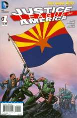 Justice League of America (2013-2014) #1 Variant E: Arizona Flag Variant