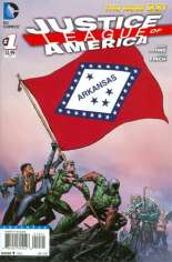 Justice League of America (2013-2014) #1 Variant F: Arkansas Flag Variant