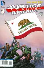 Justice League of America (2013-2014) #1 Variant G: California Flag Variant