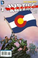Justice League of America (2013-2014) #1 Variant H: Colorado Flag Variant