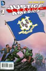 Justice League of America (2013-2014) #1 Variant I: Connecticut Flag Variant