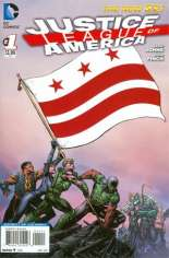 Justice League of America (2013-2014) #1 Variant K: District of Columbia Flag Variant