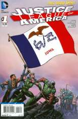 Justice League of America (2013-2014) #1 Variant R: Iowa Flag Variant