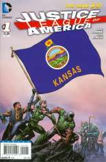 Justice League of America (2013-2014) #1 Variant S: Kansas Flag Variant