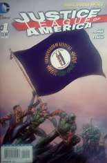 Justice League of America (2013-2014) #1 Variant T: Kentucky Flag Variant