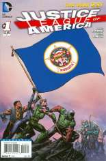 Justice League of America (2013-2014) #1 Variant Z: Minnesota Flag Variant
