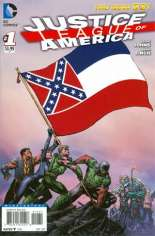 Justice League of America (2013-2014) #1 Variant ZA: Mississippi Flag Variant
