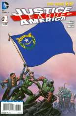Justice League of America (2013-2014) #1 Variant ZE: Nevada Flag Variant