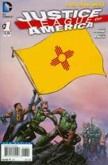 Justice League of America (2013-2014) #1 Variant ZH: New Mexico Flag Variant