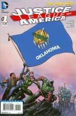 Justice League of America (2013-2014) #1 Variant ZM: Oklahoma Flag Variant