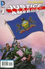 Justice League of America (2013-2014) #1 Variant ZO: Pennsylvania Flag Variant