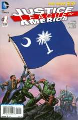 Justice League of America (2013-2014) #1 Variant ZR: South Carolina Flag Variant