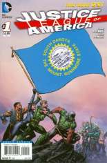Justice League of America (2013-2014) #1 Variant ZS: South Dakota Flag Variant