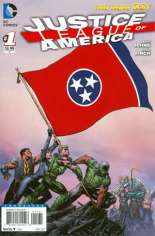 Justice League of America (2013-2014) #1 Variant ZT: Tennessee Flag Variant
