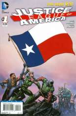 Justice League of America (2013-2014) #1 Variant ZU: Texas Flag Variant