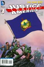 Justice League of America (2013-2014) #1 Variant ZW: Vermont Flag Variant