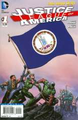 Justice League of America (2013-2014) #1 Variant ZX: Virginia Flag Variant