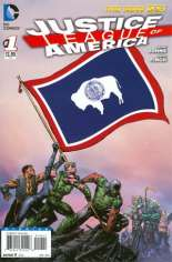 Justice League of America (2013-2014) #1 Variant ZZB: Wyoming Flag Variant