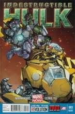Indestructible Hulk (2013-2014) #3 Variant C: 2nd Printing