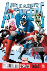 Uncanny Avengers (2012-2014) #4 Variant B: Incentive Cover