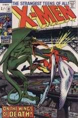 Uncanny X-Men (1963-2011) #61 Variant B: UK Edition