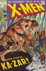 Uncanny X-Men (1963-2011) #62 Variant B: UK Edition