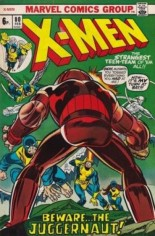 Uncanny X-Men (1963-2011) #80 Variant B: UK Edition